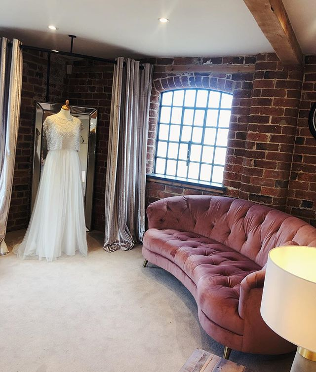 Get Bride Ready | If you're joining us today @haarlemmill , remember to pop upstairs to see the Bridal room - where lots of behind the scenes memories are made 💫 #HappyStylishBride