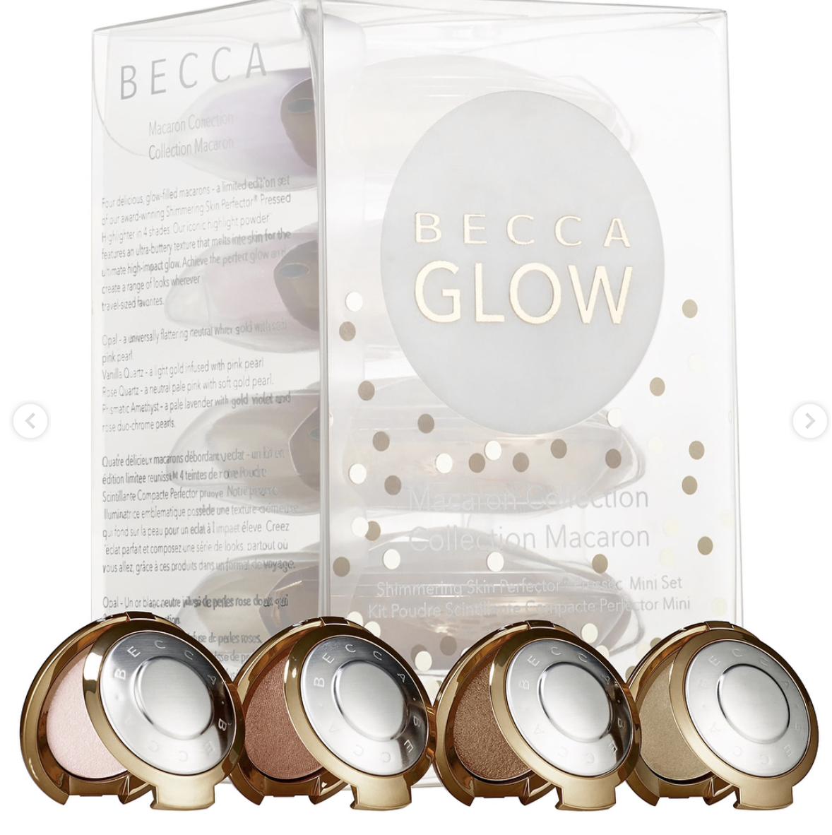 Shimmering Skin Perfector Mini Macaron Set - BECCA Cosmetics - 40$ US