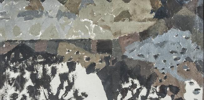 Colin Middleton 'Northern Landscape 1'  More works by Colin Middleton  here .