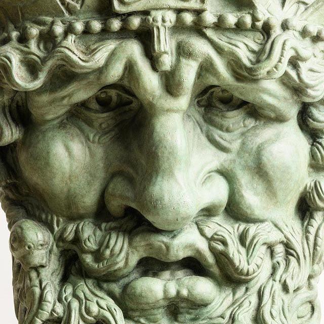 'mask of the Atlantic' - rory Breslin #irishart #rorybreslin #customhouse #edwardsmyth #irishbronze