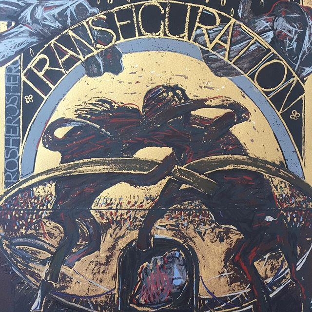 'transfiguration' - patrick Graham #irishart #patrickgraham #transfiguration #expressionism