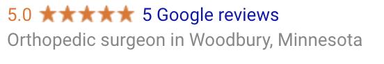 5 Stars On Google Reviews -