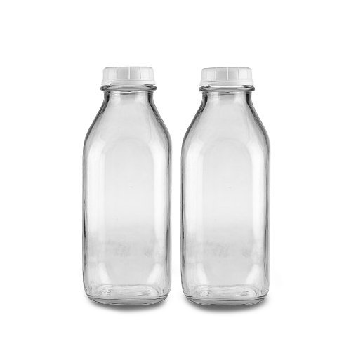 These glass milk jars work well as diffuser fillers! Just keep these filled up with water and sit them by your diffusers along with oils you use most often.