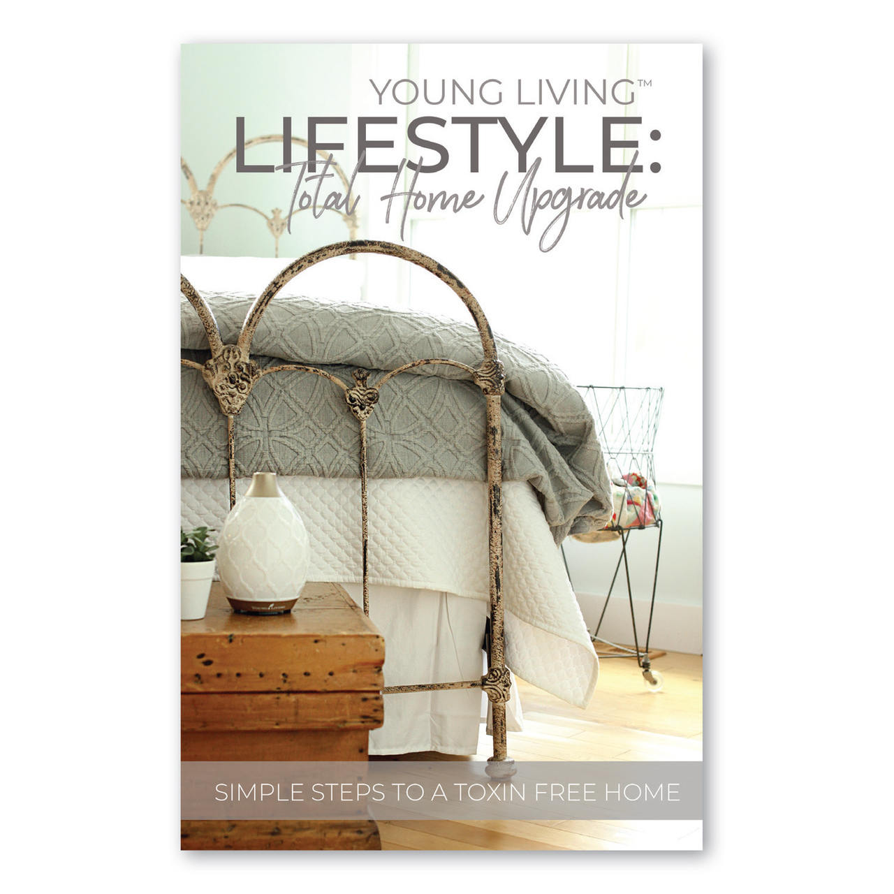 YL LIFESTYLE BOOKLET   This beautiful booklet is another great new member gift! It takes them through each room in their home and shows how they can upgrade things they are already using with our Thieves line!