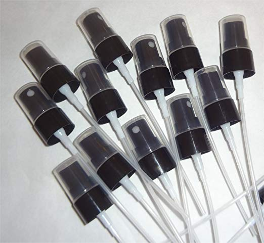 Use these to turn your 5 mL and 15 mL bottles into misters!