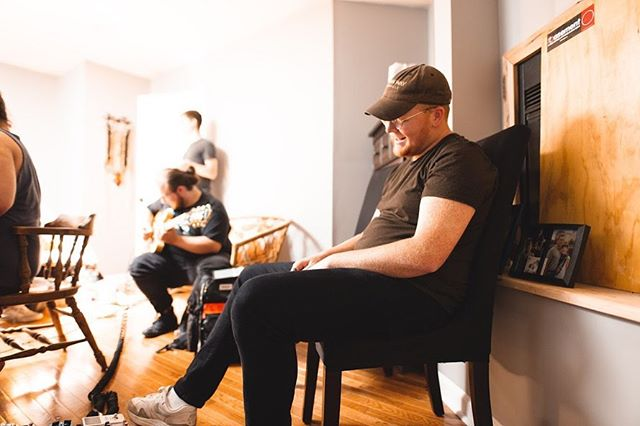 Spent the past 4 days cooped up in the studio with some of my best friends... and holy shit I can't wait for y'all to hear what we cooked up @electric_nature_studio 📸 @brittain.clay