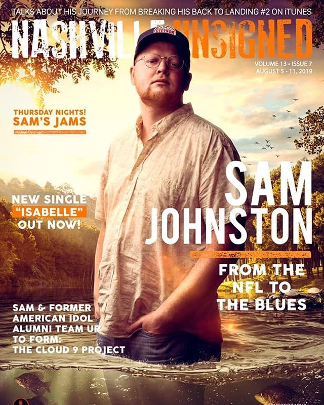 Stoked to be the @nashvilleunsigned featured unsigned artist this week! See my interview with the amazing @ambrastone soon!