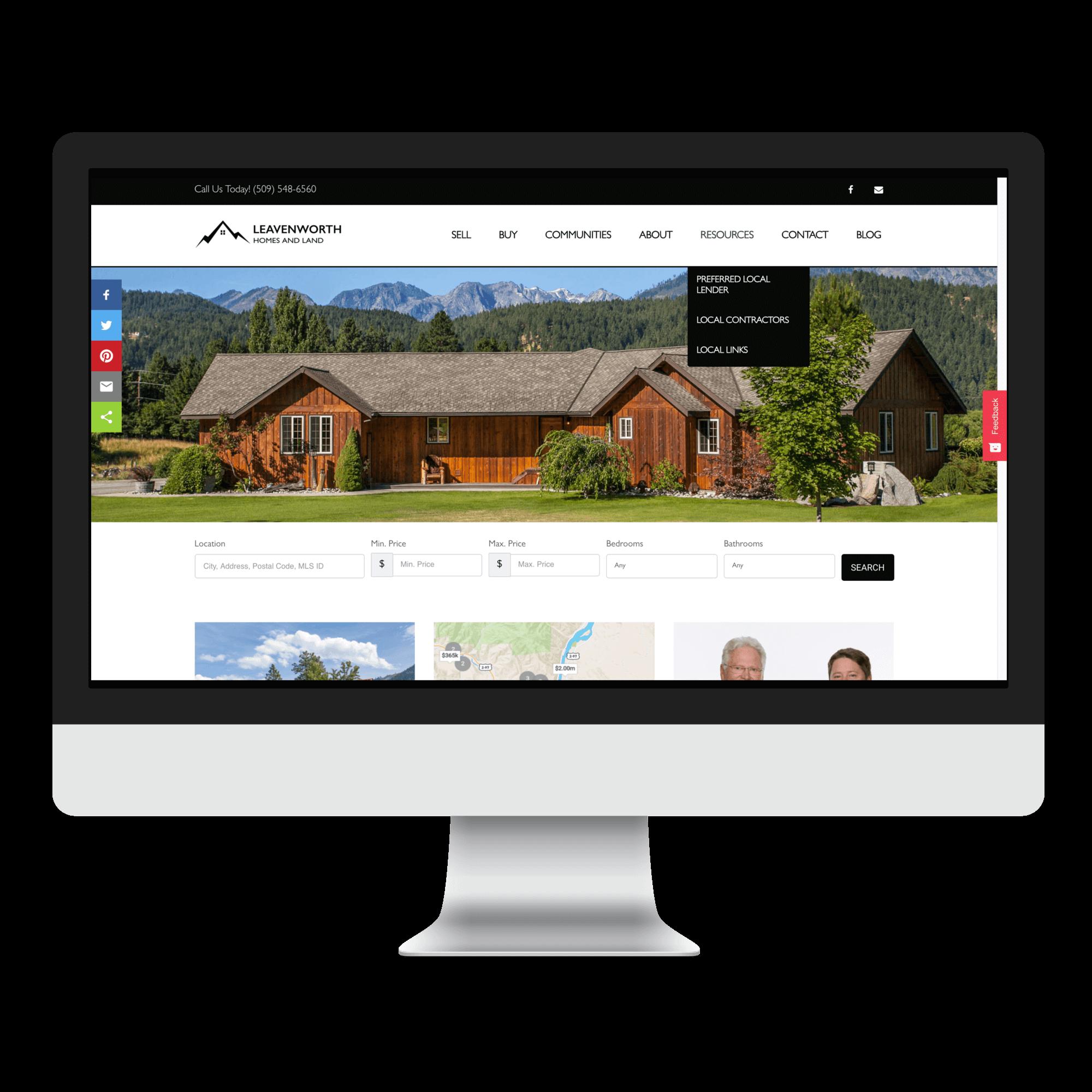 IDX Real Estate Website Design