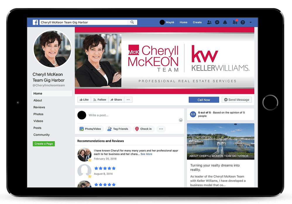 Real Estate Social Media Marketing Services