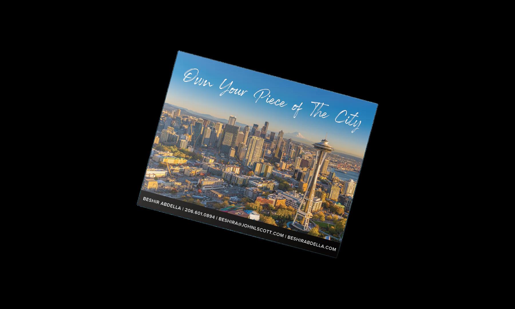 Seattle Real  Estate Graphic Design service