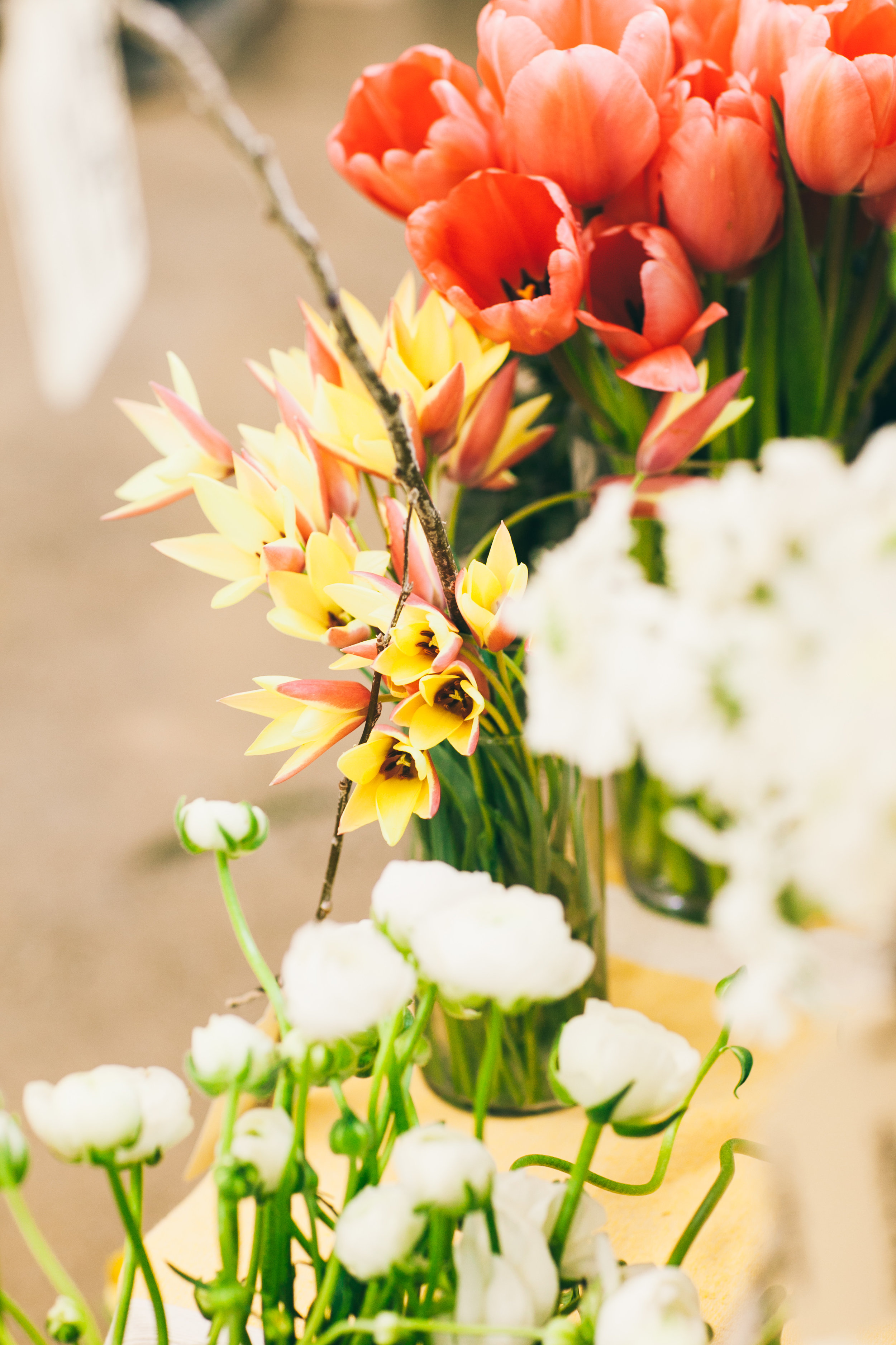 In defense of flowers... - I've noticed this year a bit of an underwhelmed attitude when clients come to me to commission flowers for events. I get the feeling some people view flowers as an obligatory accessory. Or perhaps people feel weird about spending on a luxury when money is tight.