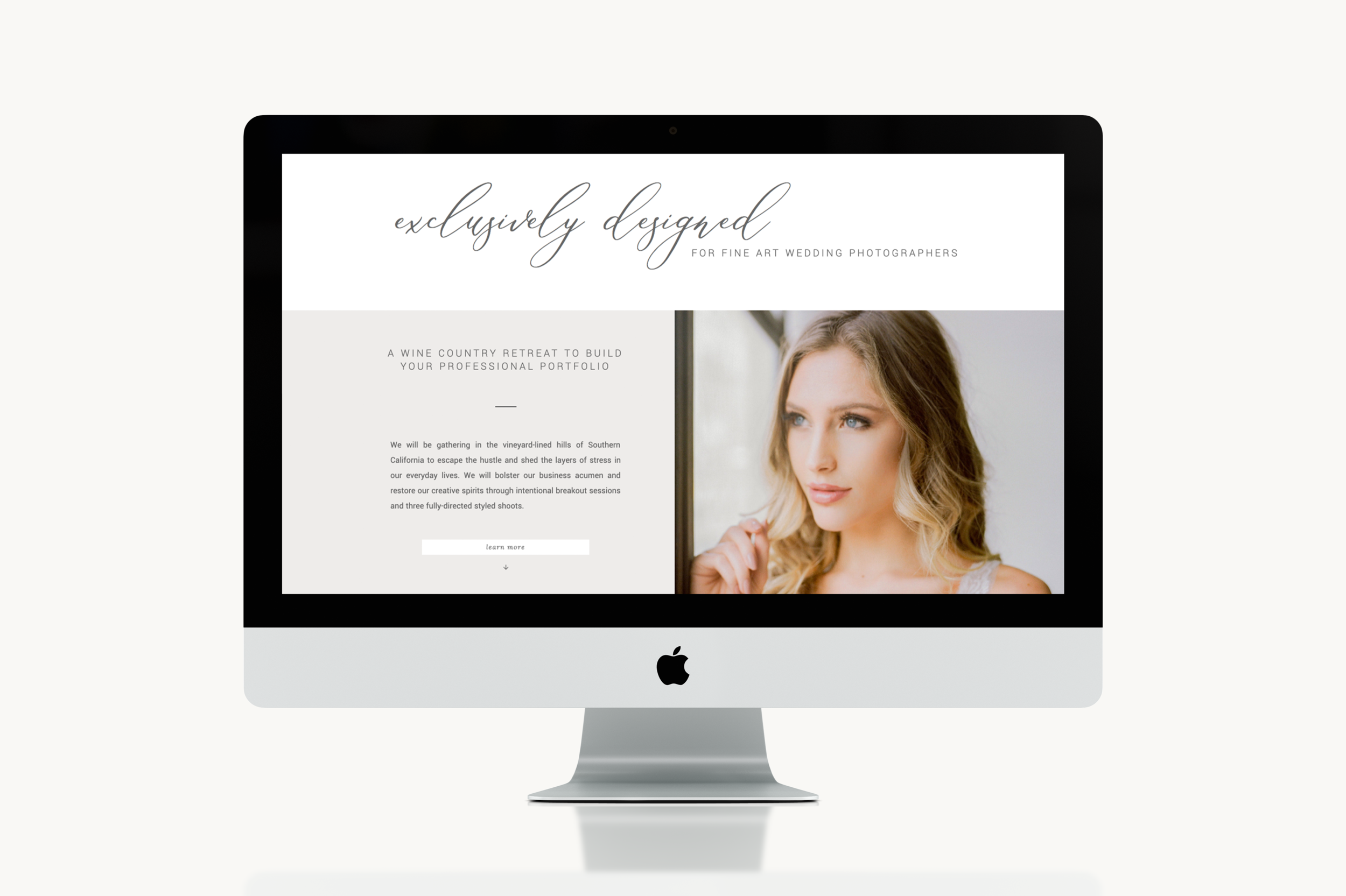 Sales Page and Email Sequence Copy and Design by Emilie Steinmann. Visit Heather Anderson Photography