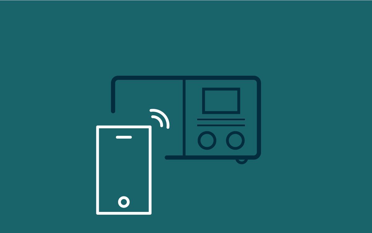 - FjernstyringSUPERSOUND 301 kan fjernstyres med Undok-appen for smarttelefoner eller den medfølgende fjernkontrollen