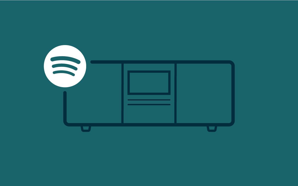 - Spotify ConnectSpill musikk fra Spotify på Pinell-radioen uten smarttelefon.