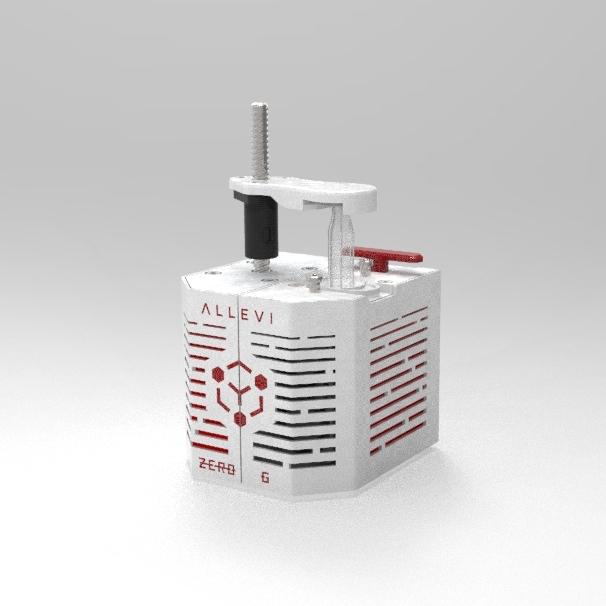 allevi zerog bioprinting in space