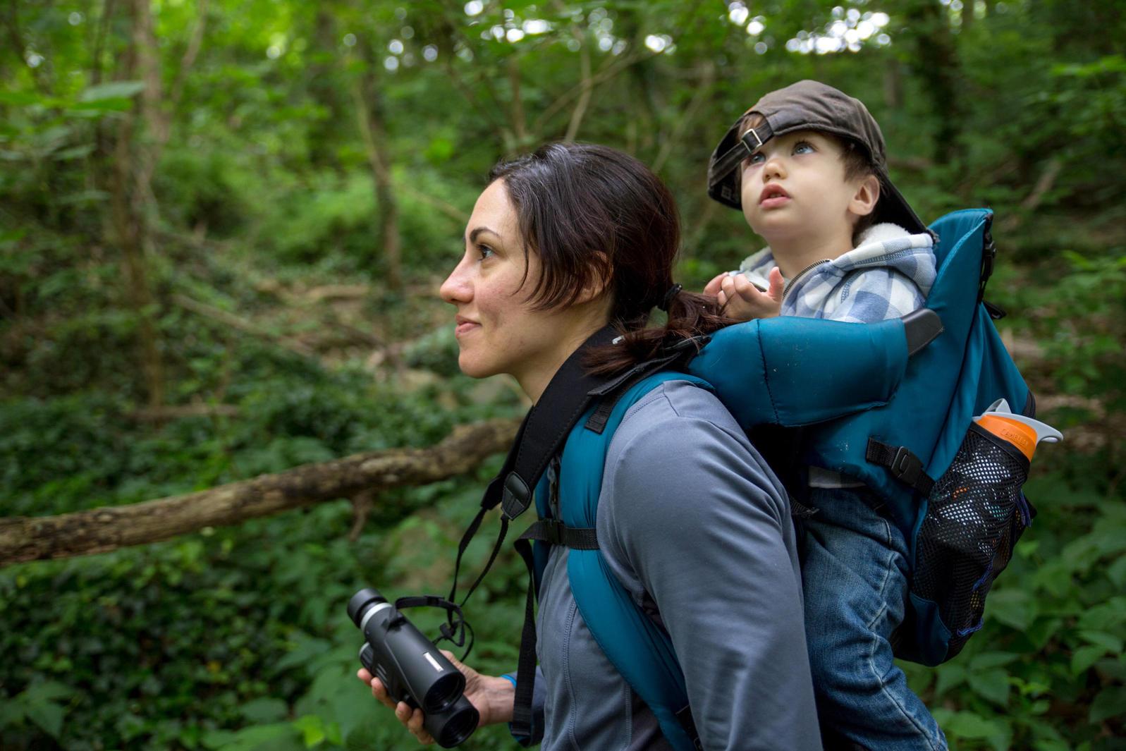 Mother-Child Bird Walk with Ana