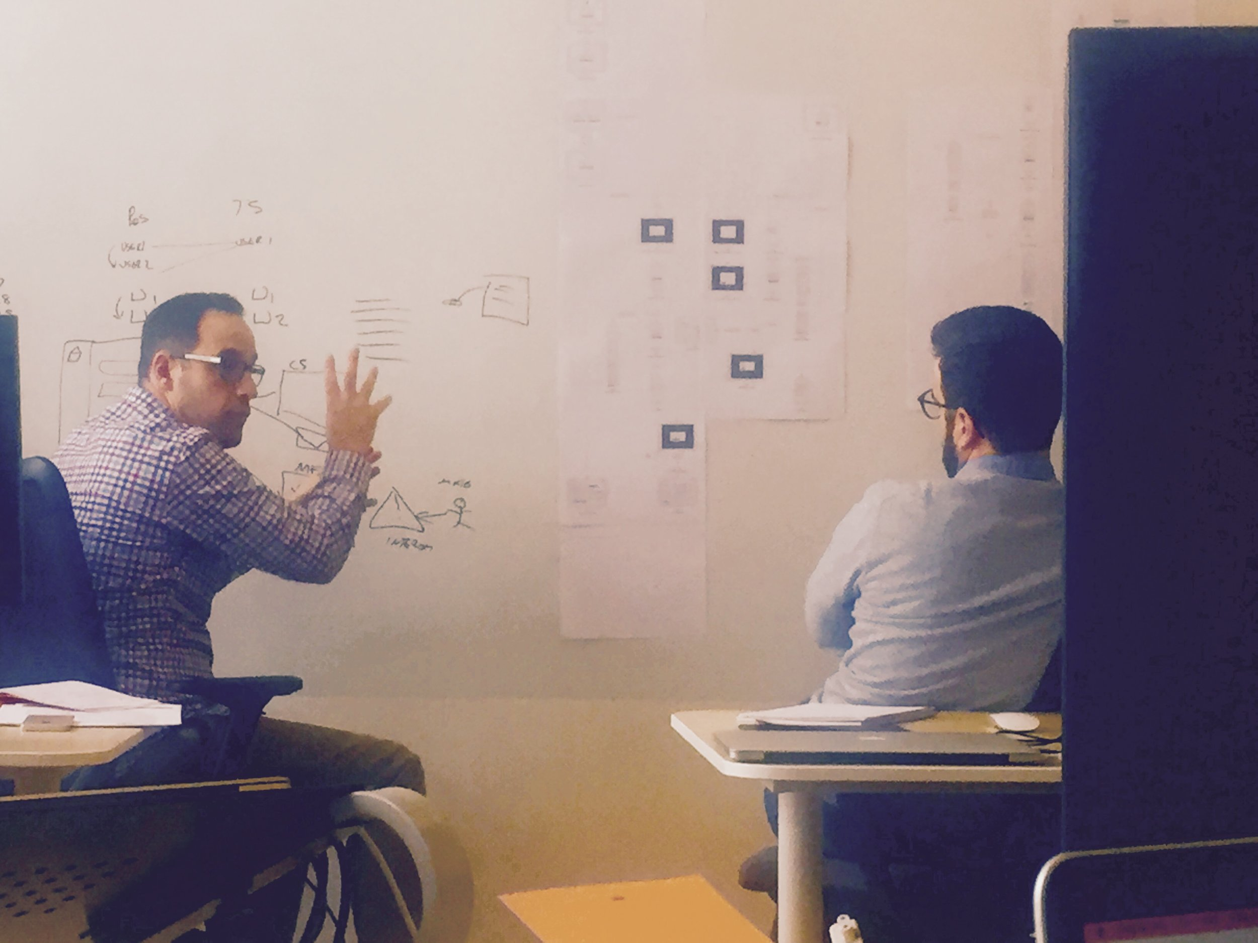 Whiteboarding our next product release