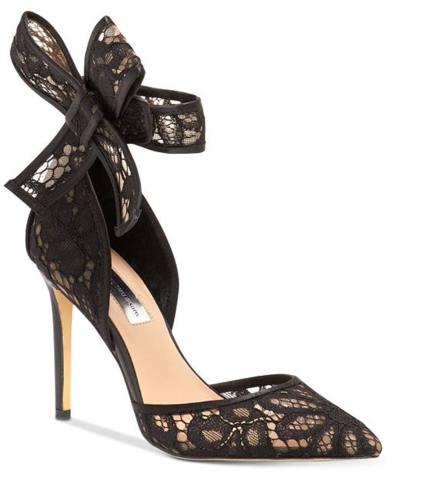 I.N.C. Kaiaa Bow Evening Pumps, Created for Macy's