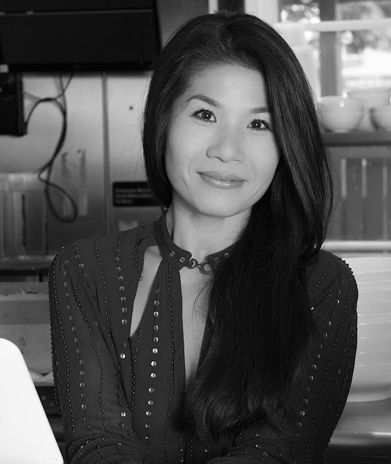"""Vui Hunt - CoFounder - I Love Juice Bar & Founder - Vui's Kitchen   Vui grew up in Vietnam in a large family that gathered around and loved each other through food, with everything centering in busy little kitchens. Carrying on those family traditions, her home today is one big kitchen, a rotating door of friends and loved ones all gathering around food. """"Vui's Kitchen is an extension of my home"""" she says, """"where the food is comforting, flavorful and made with love!"""""""