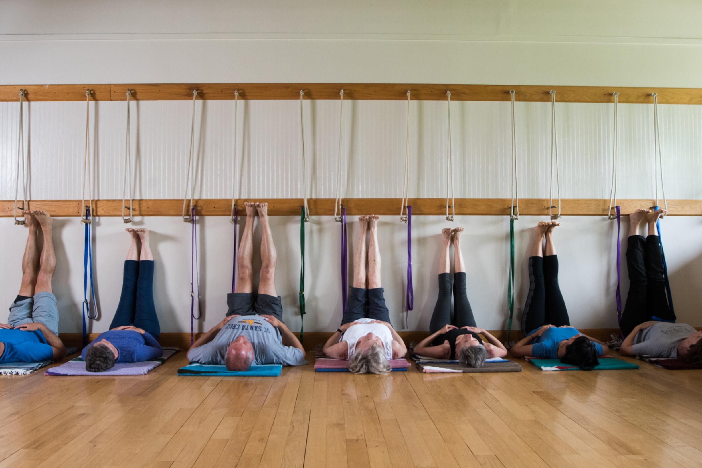 Yoga Focus class