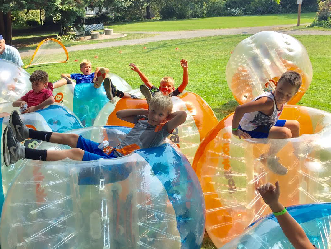 Services that fit everyone's needs. - Not just soccer. Have fun smashing, bouncing, and rolling in this game - great for corporate events, birthday parties, family reunions, and much more!Our BubbleBall Services ➝
