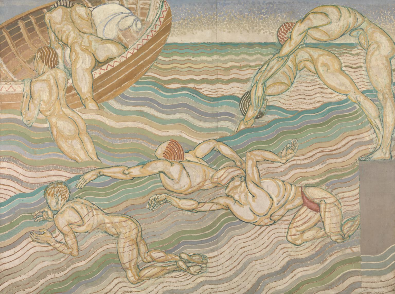 'Bathing' - Duncan Grant (1911)