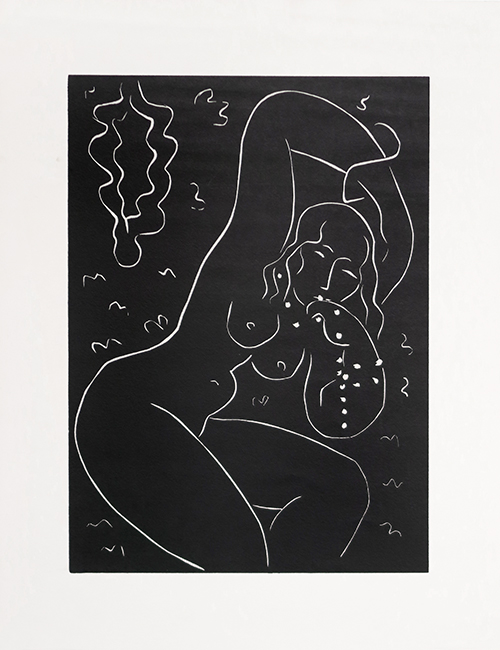 Nu au bracelet - Henri Matisse (1938 - 1940)