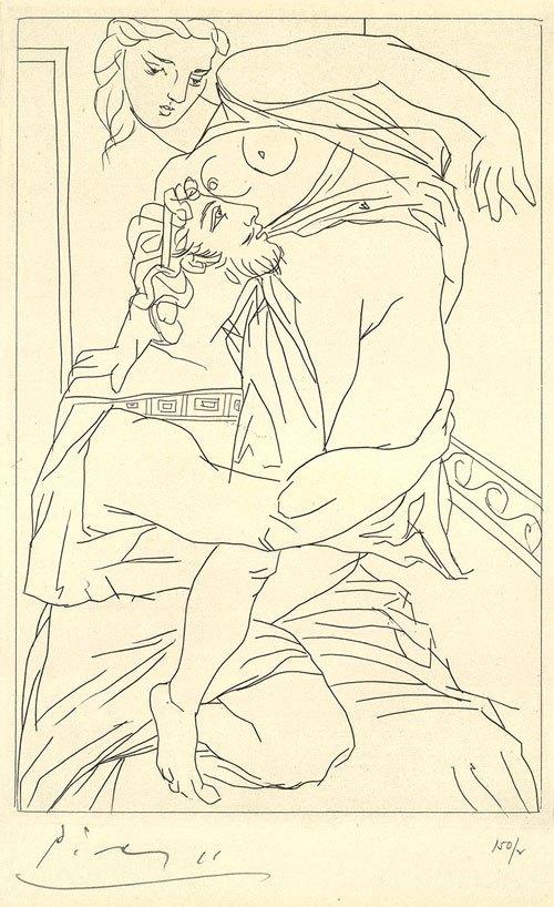 Lysistrata  -  Pablo Picasso (1934)
