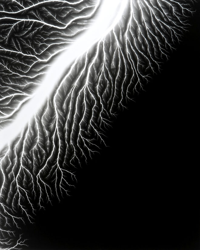 Lightning Fields 128 - Hiroshi Sugimoto (2009)