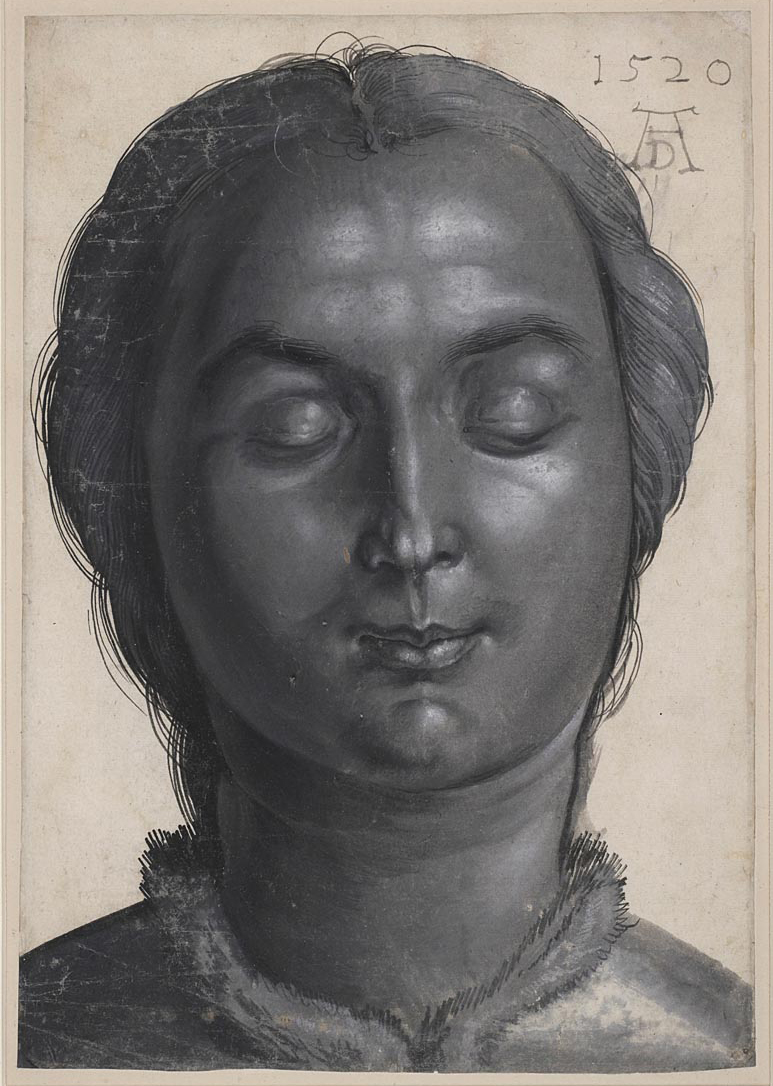Head of a Woman - Albretch Dürer (1520)