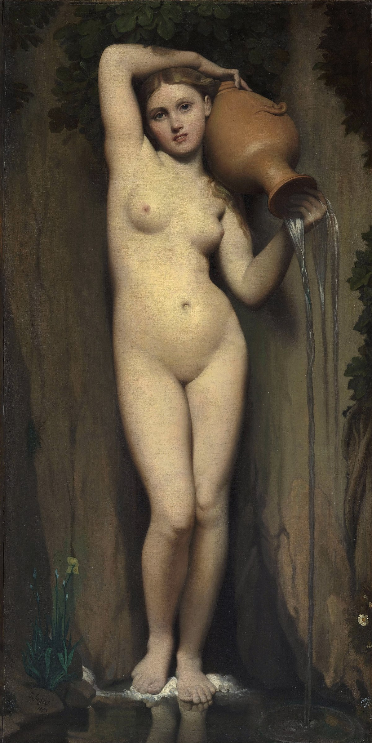 La Source - Jean Auguste Dominique Ingres (1856)