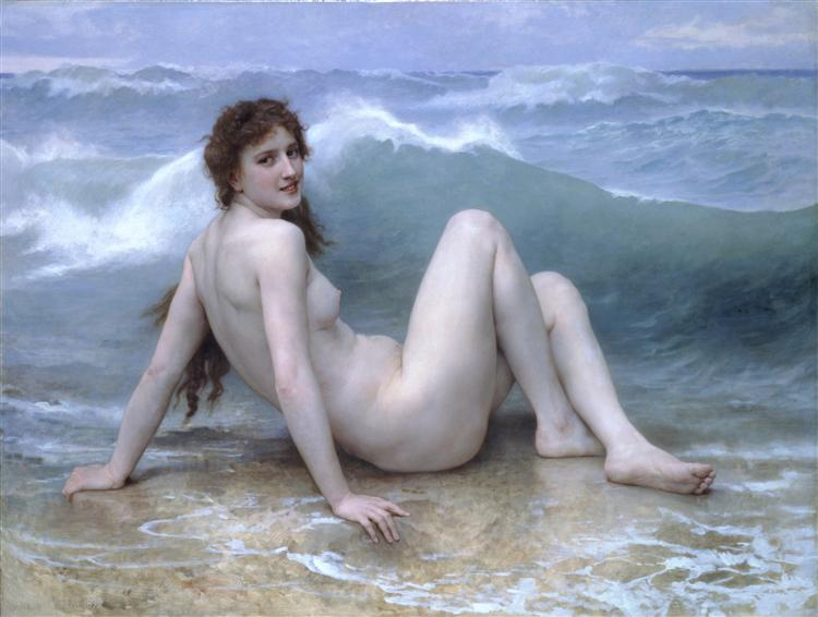 The Wave - Bougueau (1896)