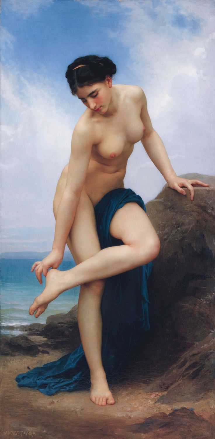 After the Bath - William-Adolphe Bouguereau (1875)