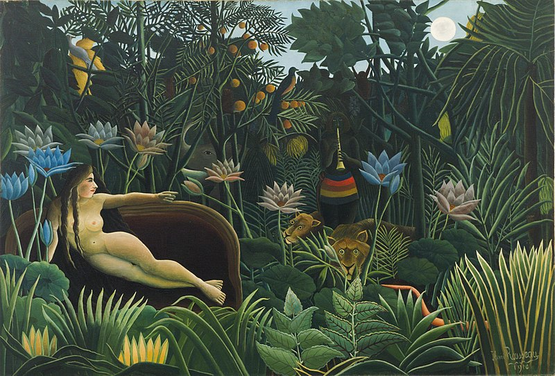 The Dream - Henri Julien Félix Rousseau (1910)