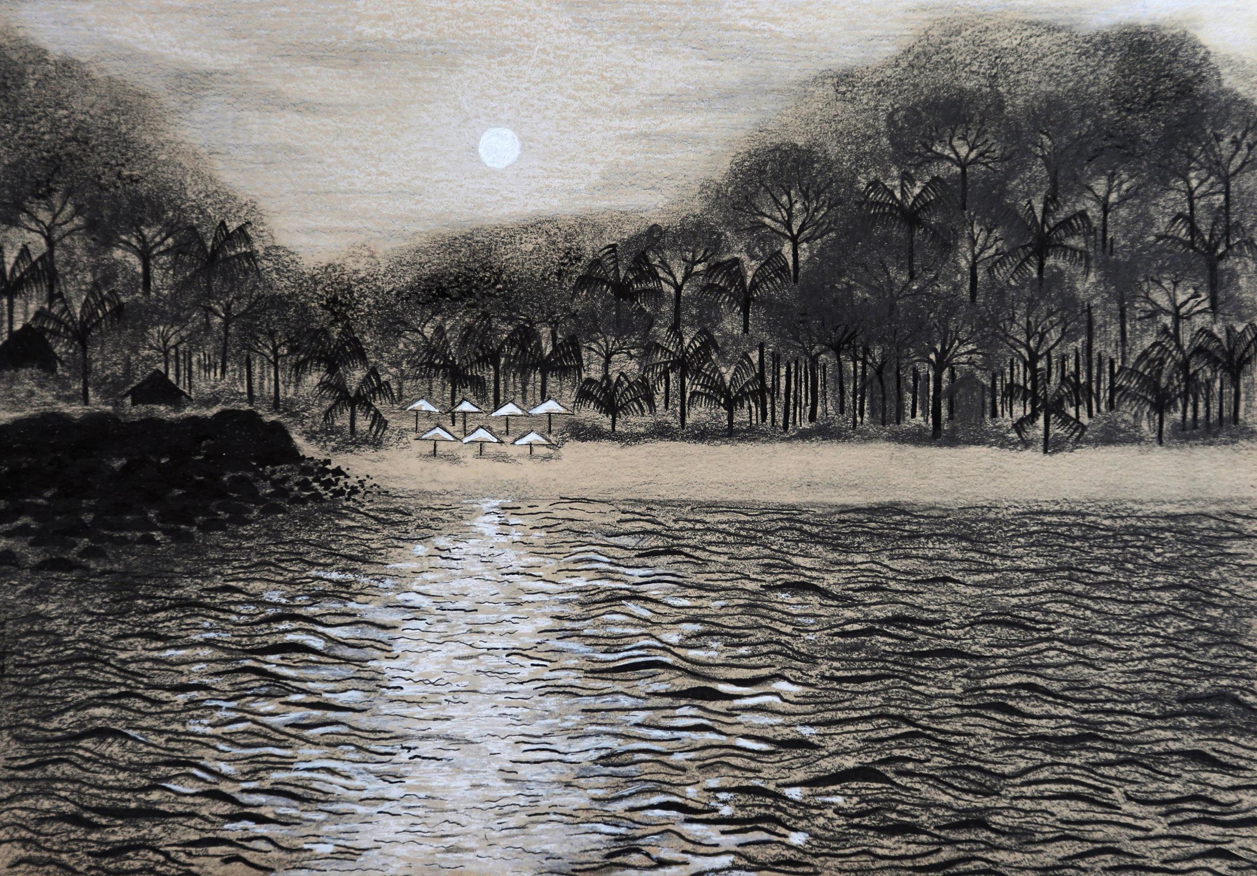 'Bamboo Bay' by Lalita Chant