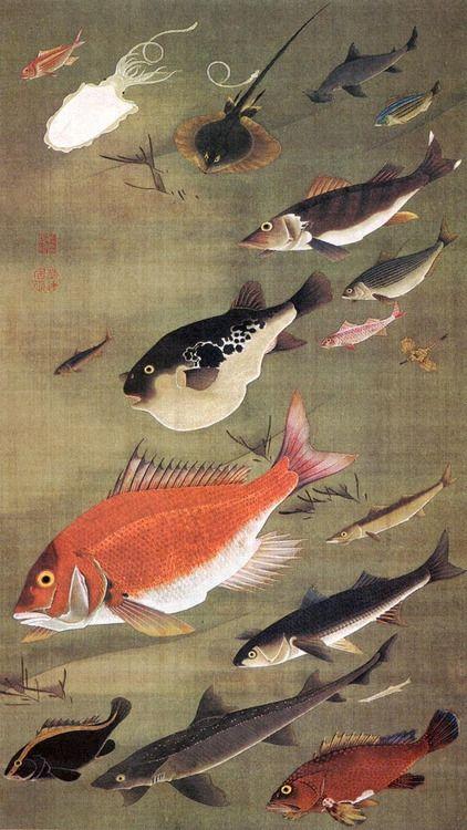 Itō Jakuchū (伊藤 若冲?, 1716–1800)
