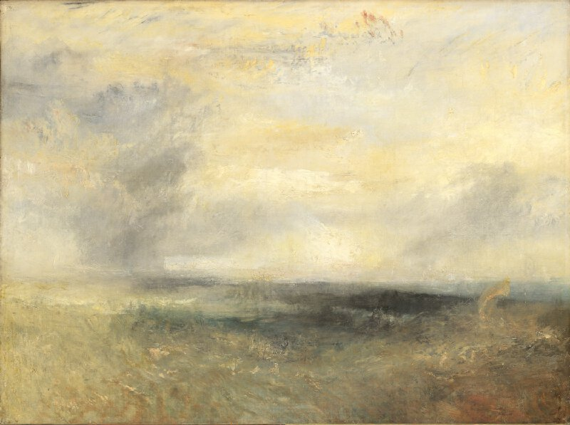Margate from the sea - J.M.W Turner (1835-40)