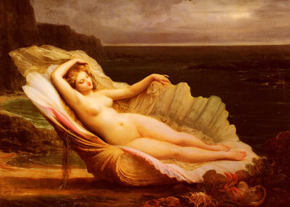 'The Birth of Venus' - Henri-Pierre Picou