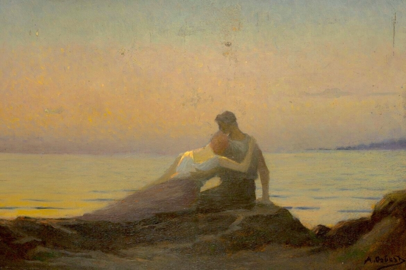 'The Eternal Song' - Alphonse Osbert