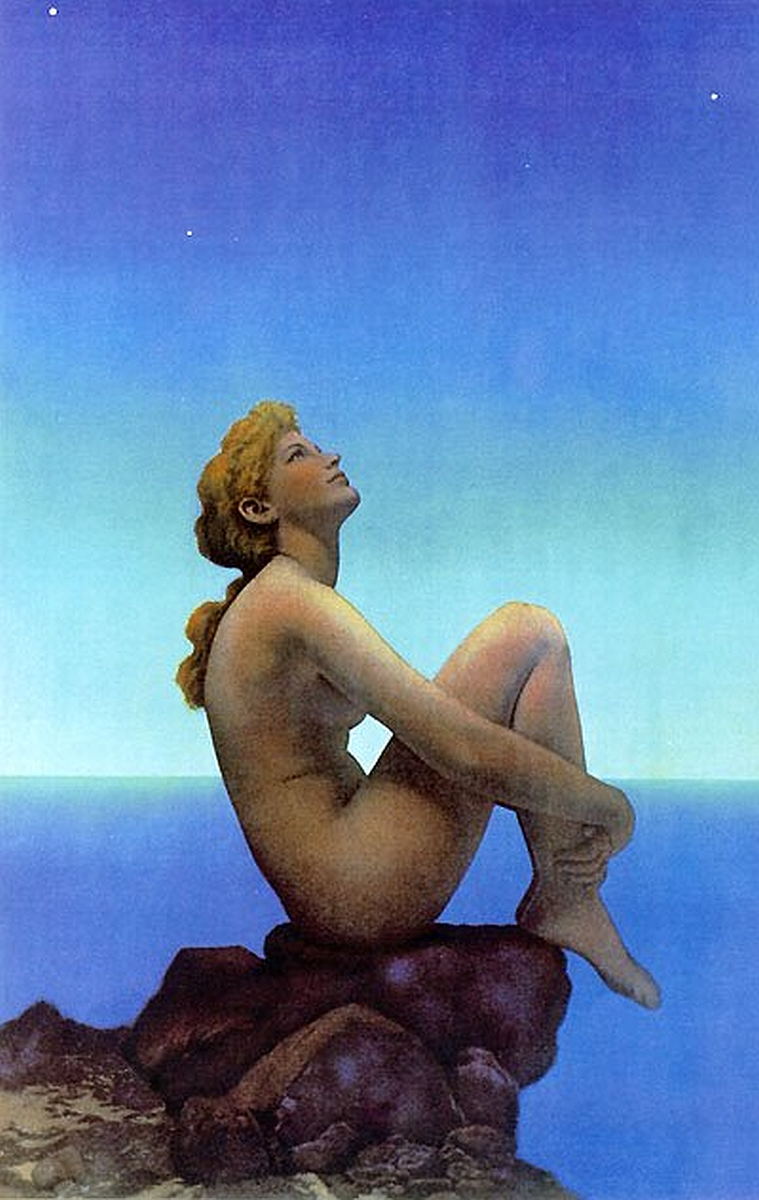 'Stars' - Maxfield Parrish (1926)