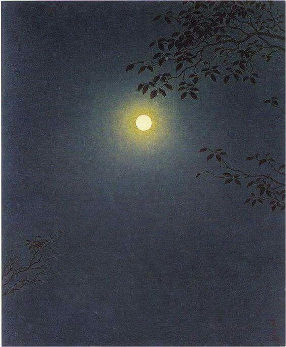 'Mangetsu Full Moon' - Yajuro Takashima (1963)