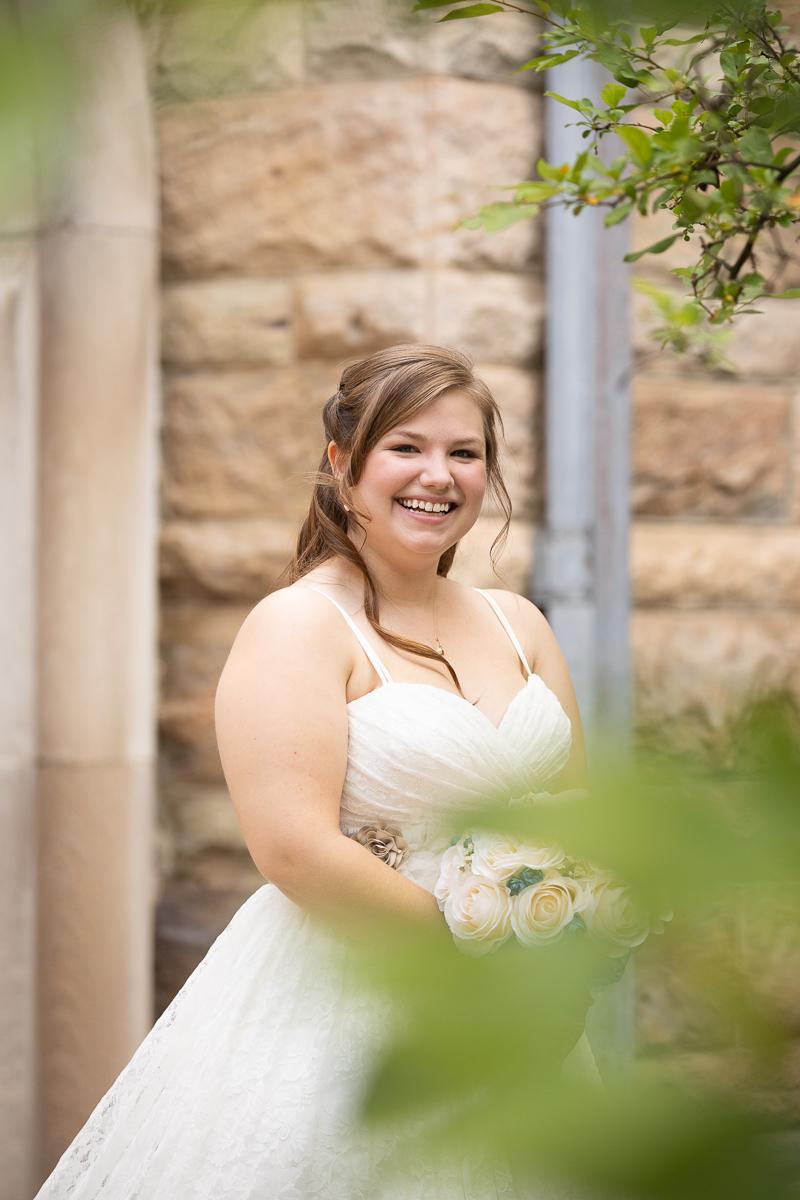 Bride formal photo.