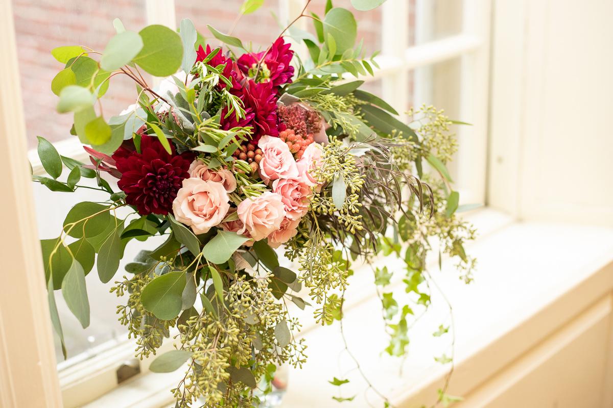 Bridal bouquet Boston wedding