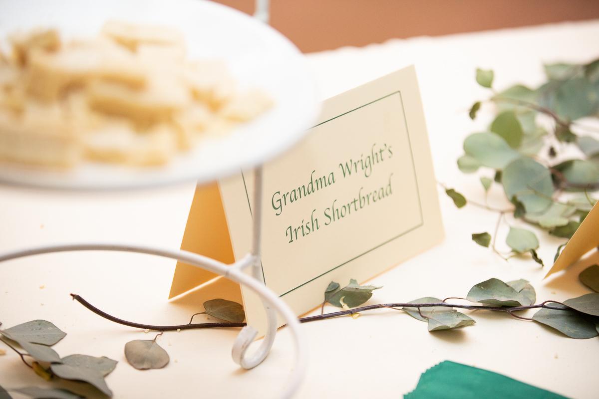 Cookies from grandma at Boston wedding.