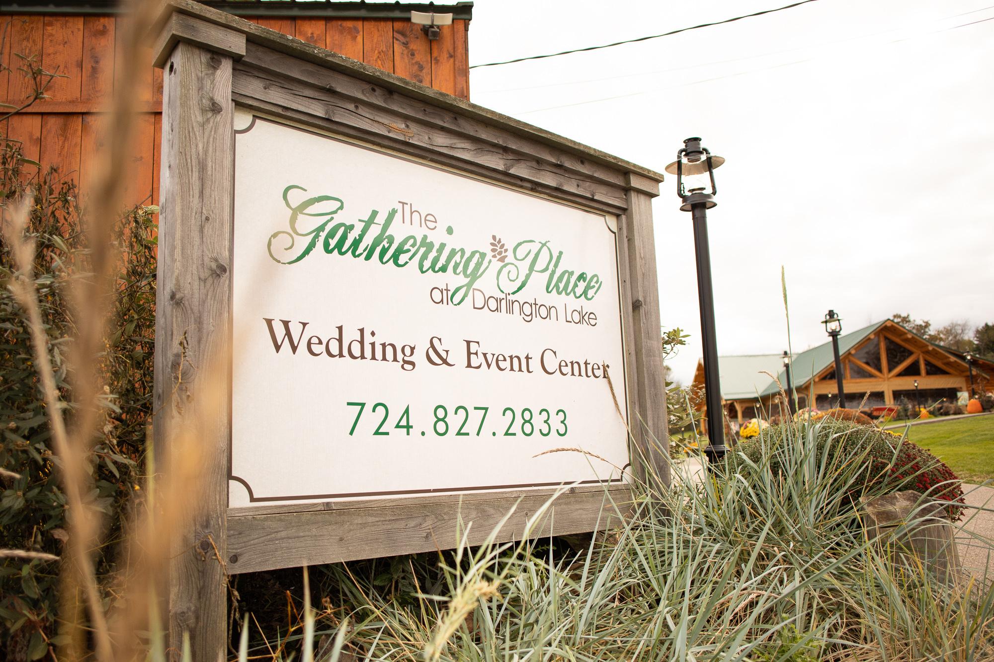 The Gathering Place at Darlington Lake styled shoot.