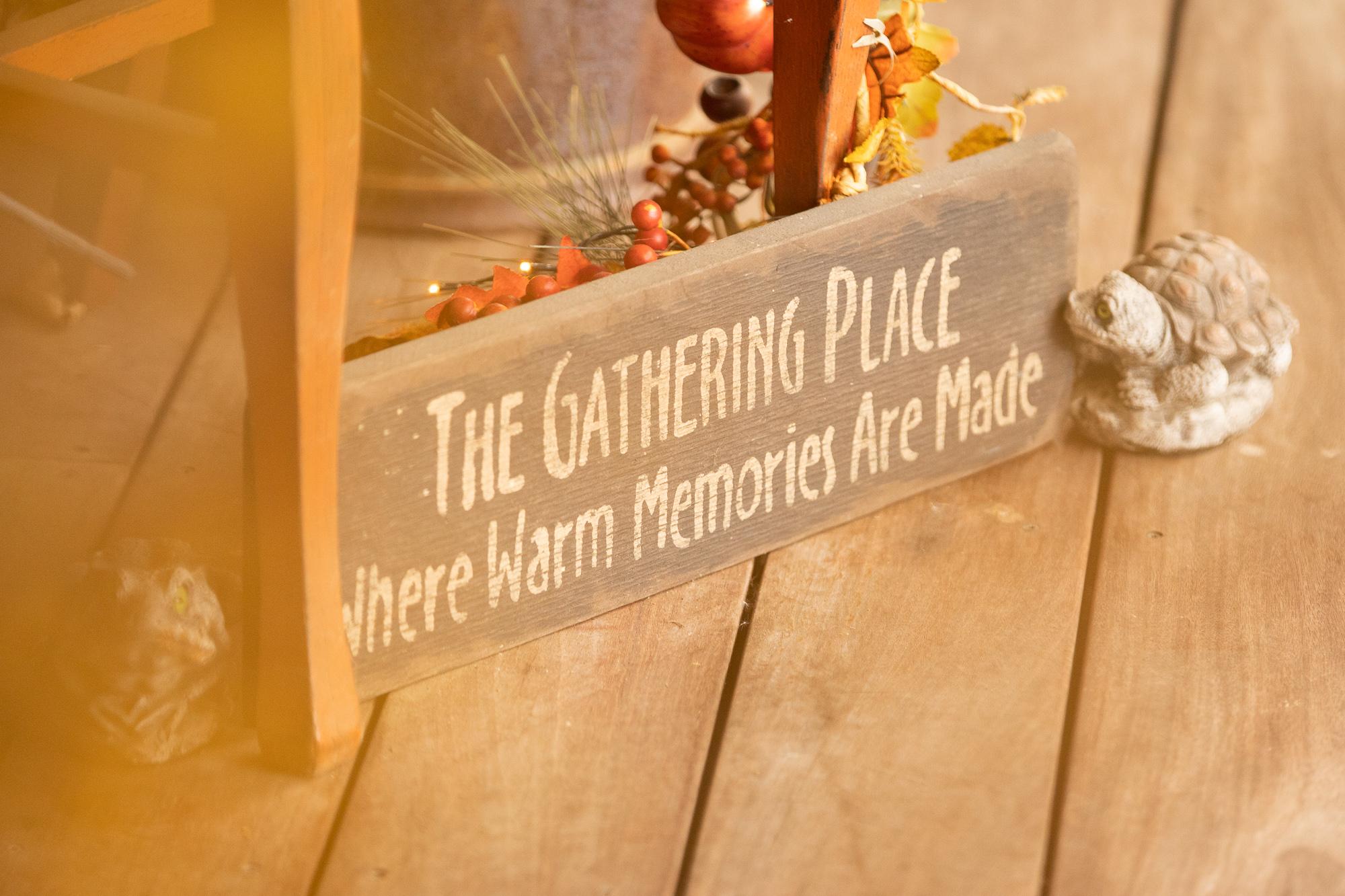 The Gathering Place at Darlington Lake wedding.