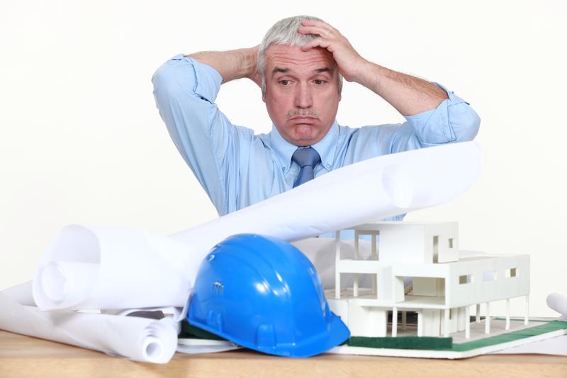 Upset architect