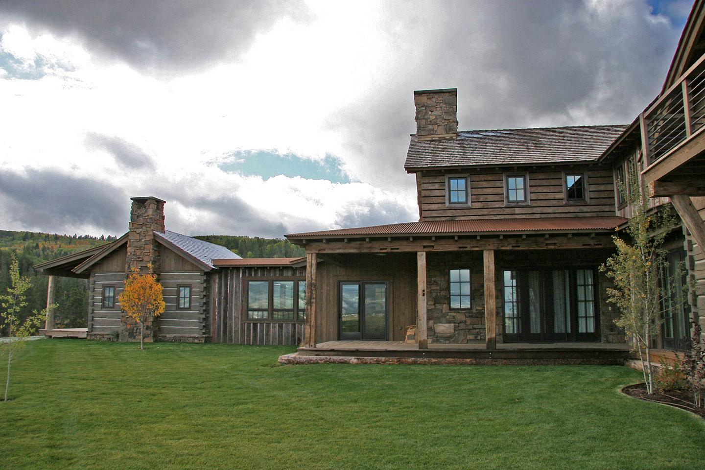 Spring exterior view