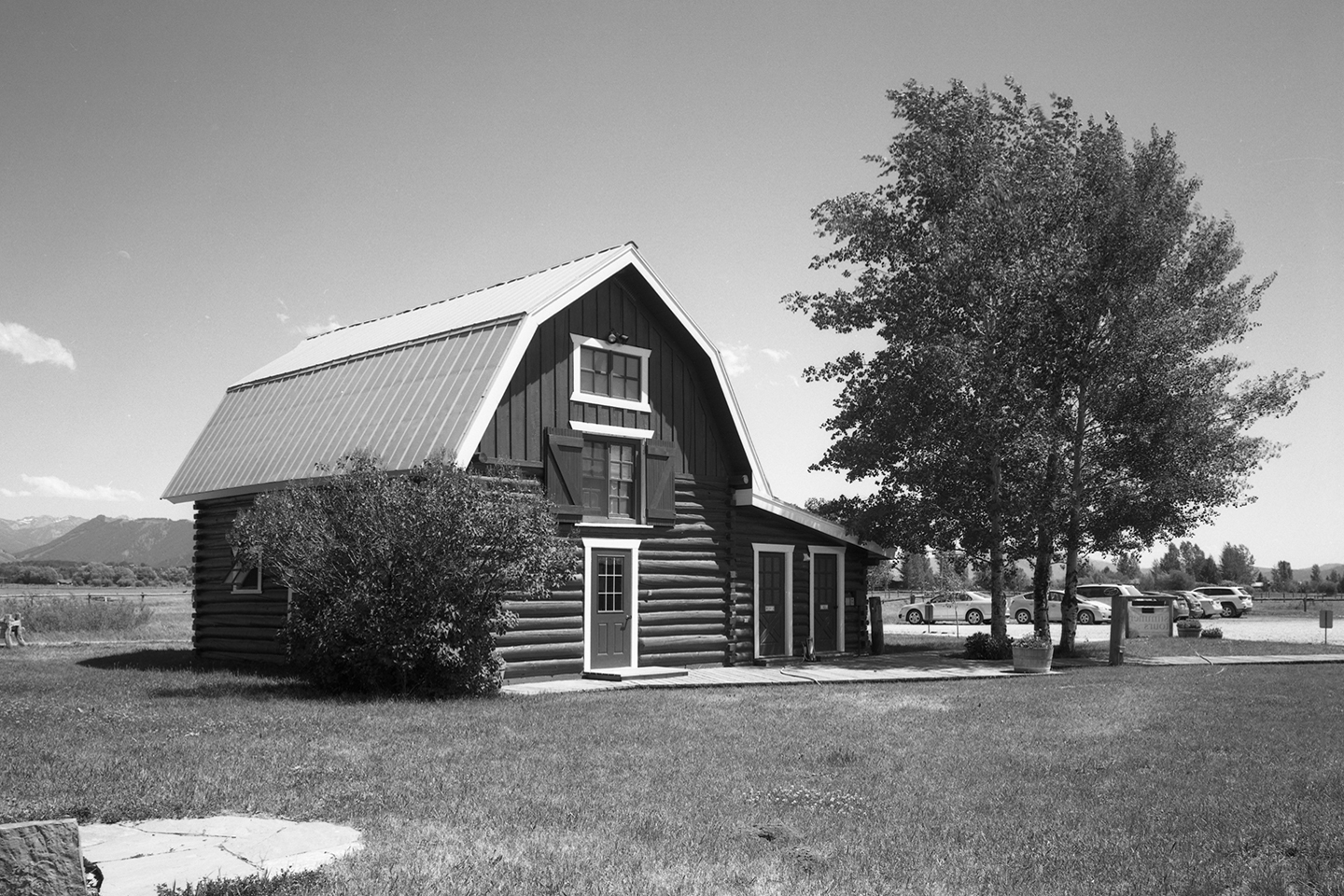 The East barn, built around 1930