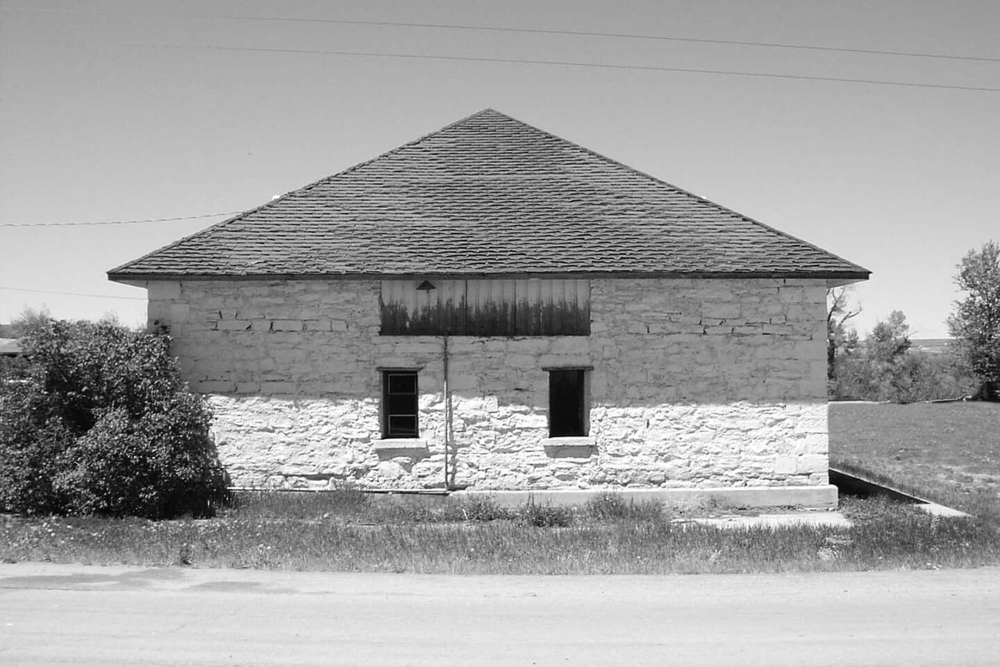 Fort Bridger rehabilitated building